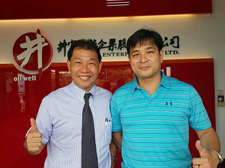 Executive VP from Swallow Diary, Mr. Huang visited us!